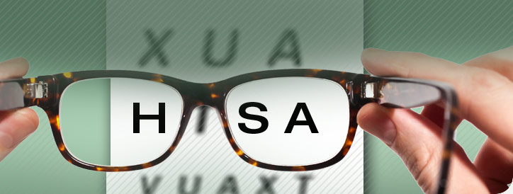 Eye glasses seing HSA qualified medical expenses